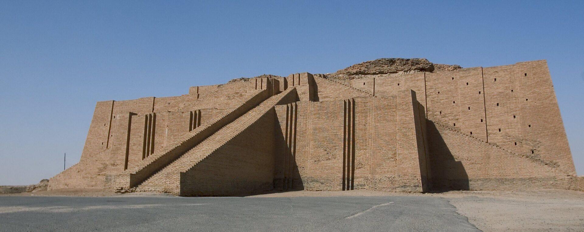 Ziggurat w Ur – świątynia Sumeryjska
