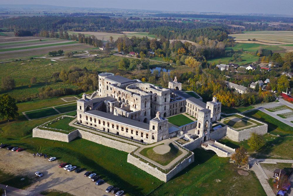 Zamek Krzyżtopór w Ujeździe – architektura i historia