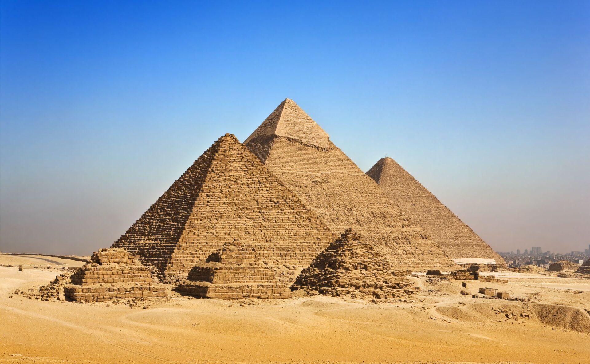 65 ciekawostek o piramidach w Gizie, Egipt