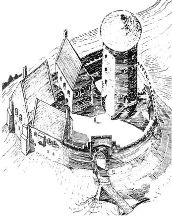 Zamek w Bardzie