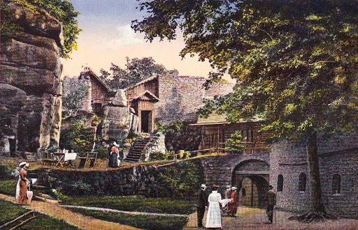Ruiny – Zamek Bolczów